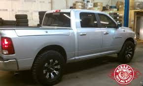 2012 Dodge Ram 1500 w Leveling Kit Wheel and Tire Package Wheels