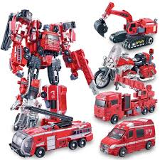 100 Rescue Bots Fire Truck Amazoncom Heroes 5in1 Robot Model