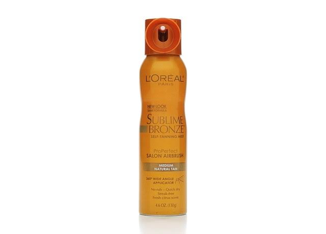 L'Oreal Paris Sublime Bronze Self-Tanning Mist - Medium, 4.6oz