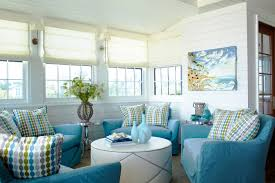 Brown And Aqua Living Room Decor by Scenic White And Aqua Living Room Beach Escape Tracery Interiors