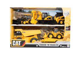 100 Cat Truck Toys CAT N Trailer Set
