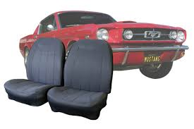 Custom Seat Covers – 1964-1/2 To 1973 Classic Mustangs - CalTrend