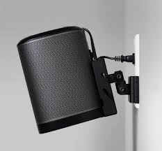 image result for sonos play1 wall mount hiding cable sonos