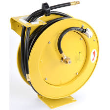 JEGS 81056: Retractable Air Hose Reel With 3/8