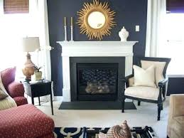 Navy Accent Wall Office Color Crush Blue Eclectic Living Room Bedroom Which