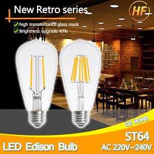 aliexpress buy high bright st64 t45 led edison bulb l