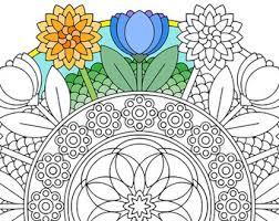 Halloween Mandala Coloring Page Mr Mooneye Printable