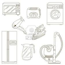 Dibujo Electrodomesticos Buscar Con Google IDEAS