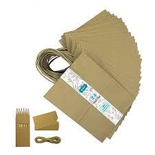 Royal Brown Kraft Arts Crafts Sewing Crafting Paper Cellophane Wrap Flat Merchandise Bags