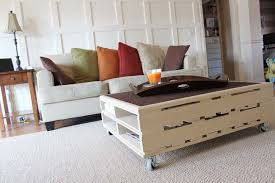 Back To Pallet Coffee Table With Wooden