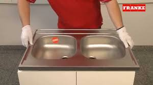Franke Sink Clips X 8 by Installation Instructions For Stainless Steel Drop On Sinks Youtube