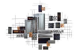 wanddeko wohnzimmer metall silber caseconrad