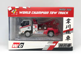 100 Towing Truck Games TINY Hino 300 Tow Hong Kong Exclusive Toys Diecast