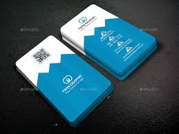 Pyramid Vertical Business Card Design by TwinGraphic