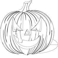 Chic Design Scary Halloween Coloring Pages Free Printable In
