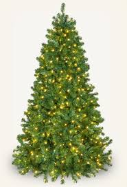 Pre Lit Multicolor Christmas Tree Canada by Artificial Christmas Trees