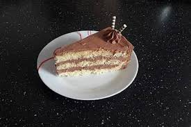nutella buttercreme torte