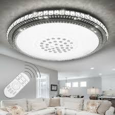 details zu luxus 36w 96w led kristall deckenleuchte deckenle dimmbar wohnzimmer leuchten