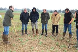 chambre d agriculture calvados agriculture de conservation en groupe les cultures s associent