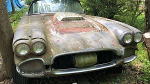 Moss-covered 1961 Chevy Corvette On Craigslist Is One-of-a-kind ...