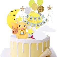 tortendeko geburtstag cake topper geburtstags pikachu