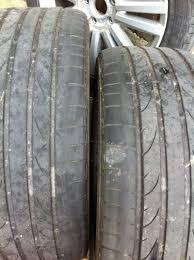 usure des pneus sur vw touran 2010 volkswagen mécanique