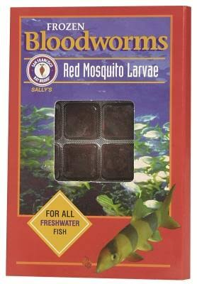 San Francisco Bay Brand Bloodworms Cubes for Freshwater Fish - 1.75oz