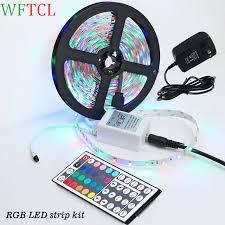 wftcl led light strips bright led 5050 3528 rgb monocolor