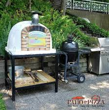 Authentic Pizza Ovens Lisboa Brick Wood Fired Pizza Oven from