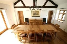 Dining Room Tables That Seat 10 12 Catchy Large Extending Table Seats Throughout In Regarding
