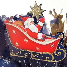 3D Pop Up Card Christmas Cat By Alljoy Alljoy Iapetus