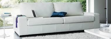 canapes cuir blanc canapé cuir blanc