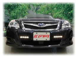 led daytime running lights for 2010 11 12 13 subaru legacy rostra
