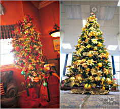 Cracker Barrel White Ceramic Christmas Tree by Gingerbread Themed Christmas Tree Christmas Lights Decoration