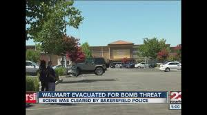 Bakersfield Halloween Town 2017 by Walmart Employees Customers Evacuated Due To Possible Bomb Threat