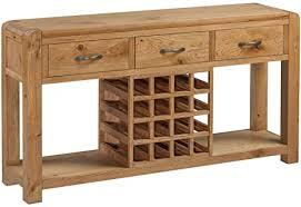 the one caprice sideboard aus massivem eichenholz mit