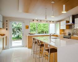 best 70 midcentury modern kitchen with light wood cabinets ideas