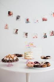 Pink And Gold Birthday Decorations Canada by Best 25 Simple First Birthday Ideas On Pinterest First Birthday