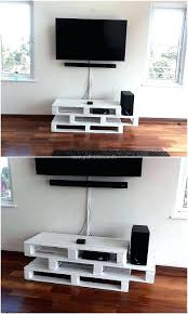 Pallet Tv Stand Designs Large Size