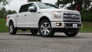 100 Ford Truck 2015 F150 Platinum Walkaround Review YouTube