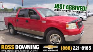 Used Ford Trucks For Sale In Hammond, Louisiana | Used Ford Truck ... Ford F150 Review Research New Used Models Trucks For Sale Big Lakes Dodge 2006 White Ext Cab 4x2 Pickup Truck Rifle Co Lifted For Youtube Cheap Used Truck Sale 2002 F250 Xlt F500486a Waco Texas Best Resource Under 5000 2014 Ford F350 Wow That Is All I Can Say Fleet Parts Com Sells Medium Heavy Duty Dismantlers Christurch Auto Wreckers Buy Cars Sell