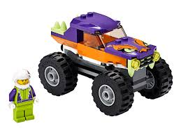 100 Kids Monster Trucks Truck 60251 City Buy Online At The Official LEGO Shop GR