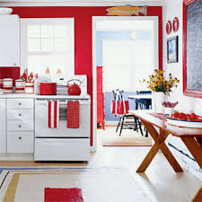 Kitchen Red Decorating Ideas Colourful Design Decor Themes