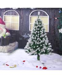 15M DIY Creative Home Decoration Tree Artificial Christmas Premium Spruce Hinged Snow Tipped