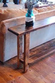 Best Rustic Sofa Tables Ideas On Natural