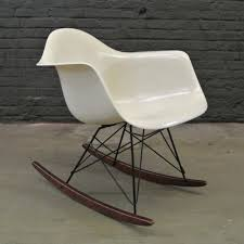 Located Using Retrostart.com > RAR Rocking Chair By Charles ... Black 2014 Herman Miller Eames Rar Rocking Arm Chairs In Very Good Cdition White Rocking Chair Charles Ray Eames And For Vintage Brown By C Frank Landau For Sale Rope Edge Chair 1950s Midcentury Modern Rar A Pair 1948 Retro Obsessions