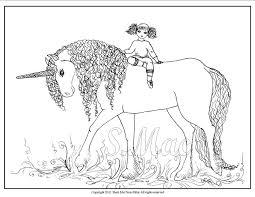 Princess Unicorn Coloring Pages