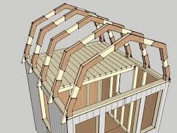 Shed Roof Gambrel How To Build A Shed Shed Roof Building Ideas