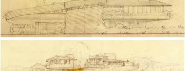 100 Frank Lloyd Wright Sketches For Sale Spiral House That Designed For His Son Precursor