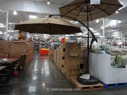 Market Umbrellas 49 95 Attractive by 11 Foot Parisol Cantilever Umbrella Costco Back Yard Shade